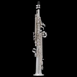 Saxophone Sopranino SELMER Super Action Série II Argenté Gravé