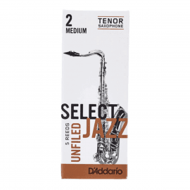 ANCHES D'ADDARIO JAZZ SELECT SAXOPHONE TENOR UNFILED 2M