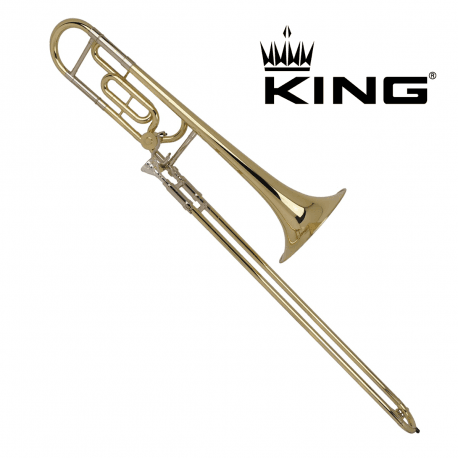 Trombone complet KING 607F Verni