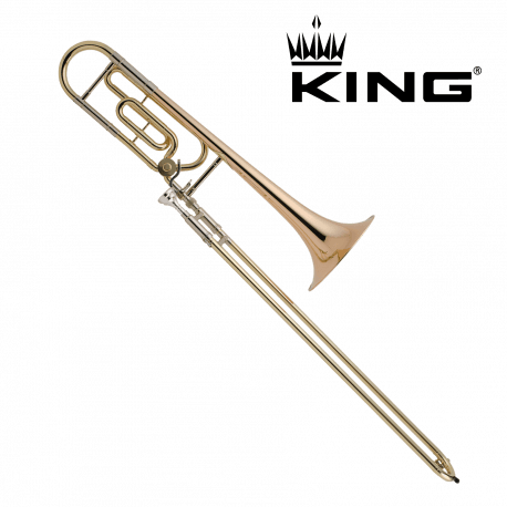 Trombone complet KING 608F Verni