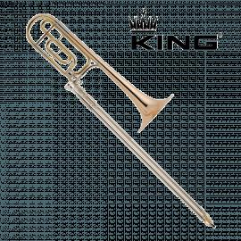 TROMBONE TENOR COMPLET KING 2104F LEGEND 4BF
