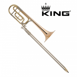 TROMBONE TENOR COMPLET KING 2104F LEGEND 4BF