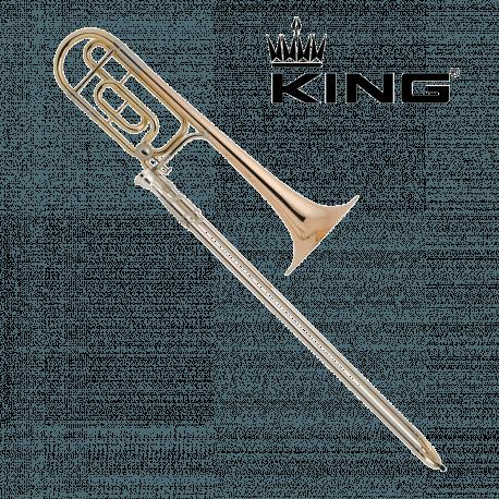 Trombone complet KING 4B Verni