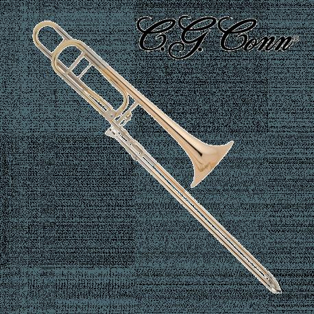 Trombone complet CONN 88HO Verni