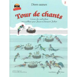 TOUR DE CHANTS Volume 5 Jean-Clément JOLLET Editions Billaudot GB8630