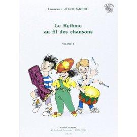 LE RYTHME AU FIL DES CHANSONS Volume 1