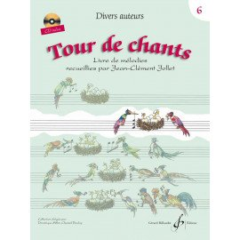 TOUR DE CHANTS Volume 6 Jean-Clément JOLLET Editions Billaudot GB8631