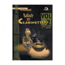 BALLADE EN CLARINETTES - BARBONNEAU Gilles - VOL 2 - 2° cycle