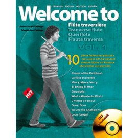 WELCOME TO FLUTE TRAVERSIERE VOL 1