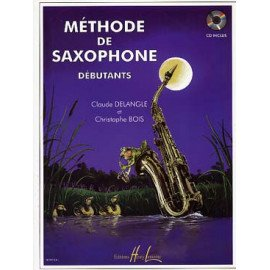 CLAUDE DELANGLE METHODE DE SAXOPHONE DEBUTANT VOLUME 1