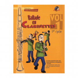 BALLADE EN CLARINETTES - BARBONNEAU Gilles - VOL 1 - 1° cycle