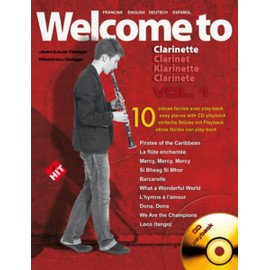 WELCOME TO CLARINETTE VOL 1