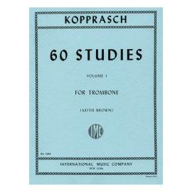 60 ETUDES DE KOPPRASCH Vol. 1