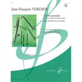 CARTES POSTALES - J-F. VERDIER - Clarinette