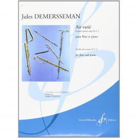 AIR VARIE - J. DEMERSSEMAN - Flûte Traversière