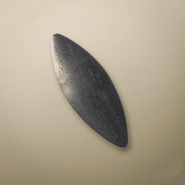 PLAQUE A GRATTER BOIS BOMBEE 5 cm