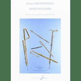 DANSE POUR KATIA Armand BOURNONVILLE Flûte Traversière