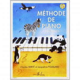 Méthode de Piano Débutants Charles HERVE & Jaqueline POUILLARD