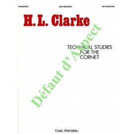 CLARKE TECHNICAL STUDIES (Défaut d'aspect)