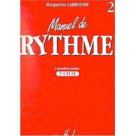 MANUEL DE RYTHME Volume 2 - M. LABROUSSE - Formation Musicale