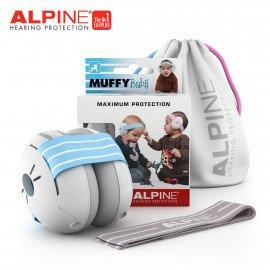 CASQUE ANTI-BRUIT ALPINE MUFFY BABBY BLEU