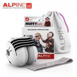 CASQUE ANTI-BRUIT ALPINE MUFFY BABY NOIR