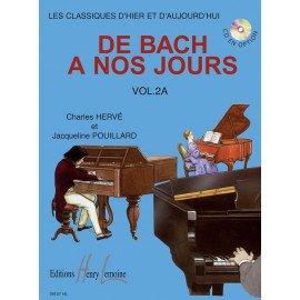 DE BACH A NOS JOURS VOL.2A - PIANO