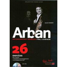 LES FONDAMENTAUX RECREATIFS d'après ARBAN Volume 1 - A. HENRY