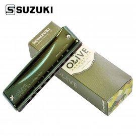 Harmonica Diatonique SUZUKI Olive C-20