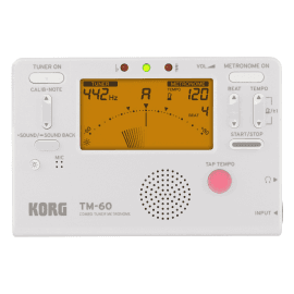 Métronome Accordeur KORG TM60-WH