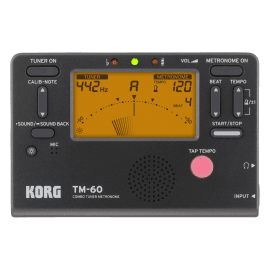 Métronome Accordeur KORG TM 60-BK