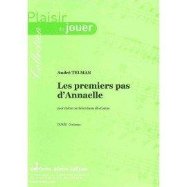 LES PREMIERS PAS D'ANNAELLE - André Telman - Trompettes
