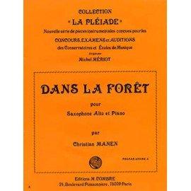 DANS LA FORET - Christian MANEN - Saxophone Alto et piano