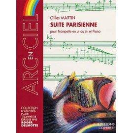 SUITE PARISIENNE - Gilles Martin - Trompettes en ut ou sib et piano