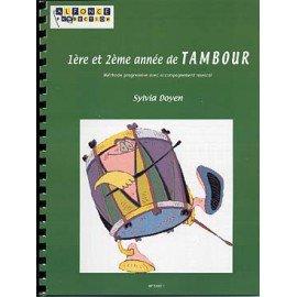 1° ET 2° ANNEE DE TAMBOUR - Sylvia Doyen