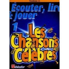 LES CHANSONS CELEBRES VOL1 - CLE DE FA - Trombone