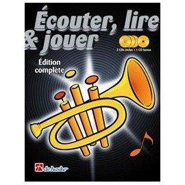 ECOUTER LIRE ET JOUER METHODE DE TROMPETTE COMPLETE avec 4 CD