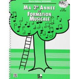 MA 2° ANNEE DE FORMATION MUSICALE