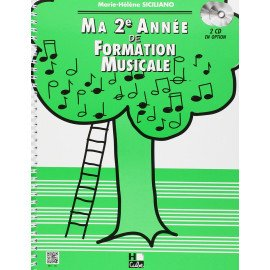 MA 2° ANNEE DE FORMATION MUSICALE Marie-Hélène SICILIANO Editions HCube HC16