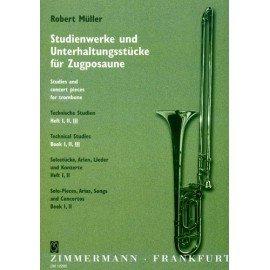 TECHNICAL STUDIES VOLUME 3 - Robert Müller - Trombone