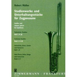 TECHNICAL STUDIES VOLUME 3 - Robert Müller - Trombone