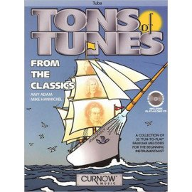 TONS OF TUNES FOR THE CLASSICS + CD - TUBA
